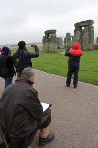 Wet day at Stonehenge