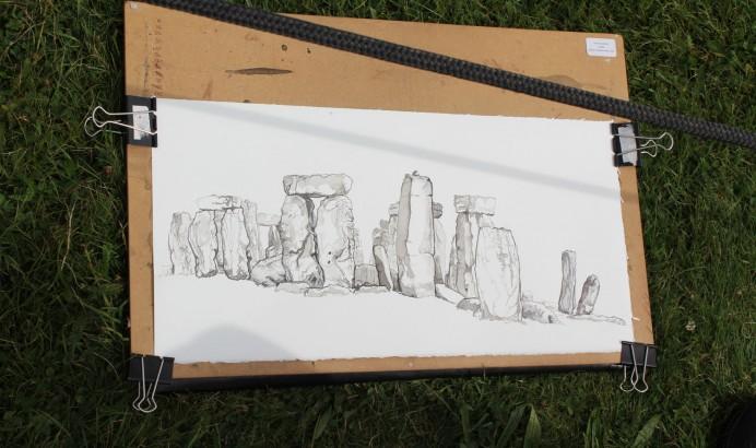 Anstee - Stonehenge Study 23rd August 2012