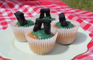 Stonehenge Fairy Cakes