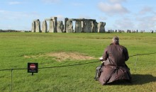 Mark Anstee Stonehenge Artist