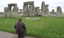 Anstee at Stonehenge 28th November