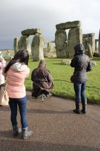 Anstee at Stonehenge December 30th
