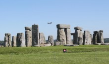 Chinook over Stonehenge