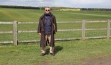 Mark in the Stonehenge car park