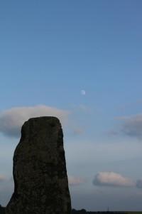 Sarsen and Moon
