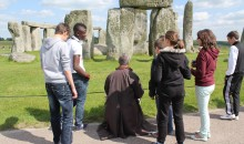 Mark Anstee drawing Stonehenge